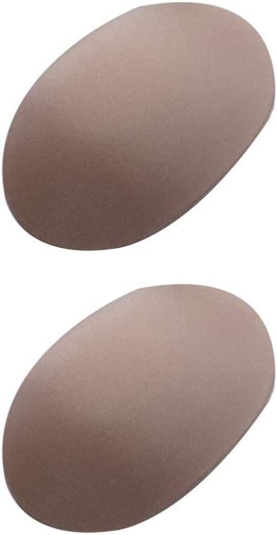 inhzoy 1 paio di spalline in silicone morbido autoadesivo push-up spalline rinforzate per donne e uomini