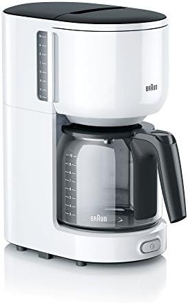 Braun KF3120WH - Cafetera, color blanco, 1000 W: Amazon.es: Hogar