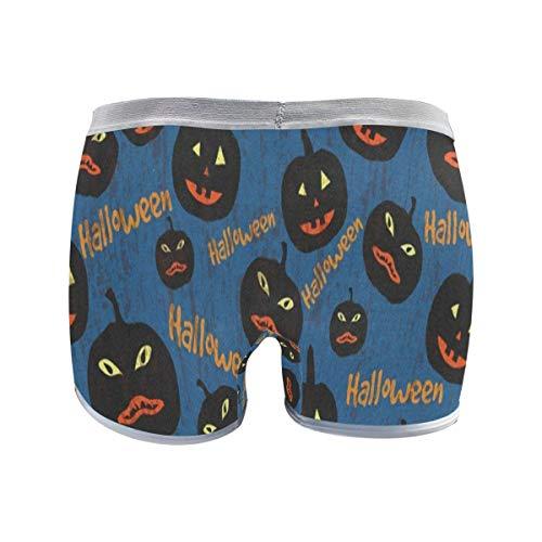 (Women's Regular & Plus Size Underwear,Winter Fox and Rabbit Stretch Boxer Briefs Boyshort Anti-Glare Panties for Girls XXL)