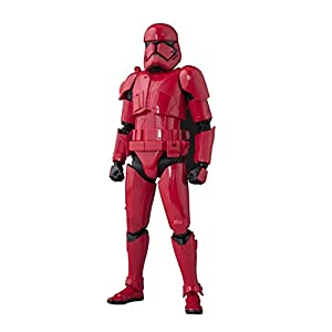 BANDAI SPIRITS S.H.Figuarts Star Wars Sith Trooper (Star Wars: The Rise of Skywalker) 6in. PVC & ABS Painted Action Figure