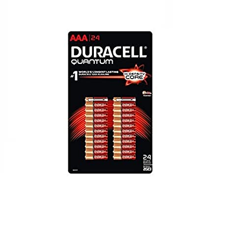 Amazon.com: Duracell Quantum pilas alcalinas AAA 24 Count ...