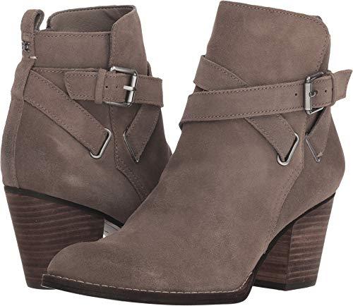 Sam Edelman Women's Morris Ankle Boot, Flint Grey Suede, 6 M