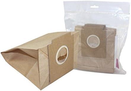 10x Bolsas de papel para aspiradoras, de Solac 897 / 898 / 901 / 903 / A401 / ATOMIC ANT: Amazon.es: Hogar