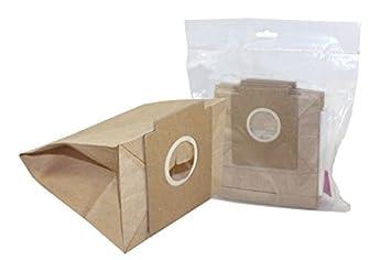 10x Bolsas de papel para aspiradoras, de Solac 897 / 898 ...