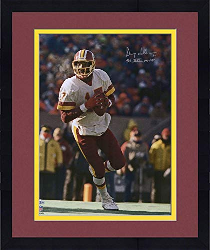 "Framed Doug Williams Washington Redskins Autographed 16"" x 20"" White Vertical Photograph with""SB XXII MVP"" Inscription - Fanatics Authentic Certified"