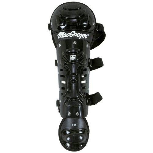 Junior B62 Single Knee Leg Guard, Black