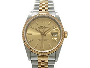Rolex Datejust Swiss-Automatic Male Watch 16233 (Certified Pre-Owned)