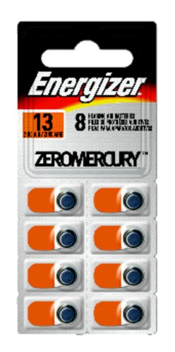 Energizer Hearing Batteries Az13e 8 Count