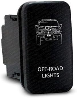 CH4x4 Push Switch for Toyota FJ Cruiser Amber Led Rear Bumper Lights Symbol