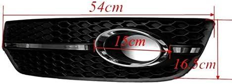 Color : Black Pare-Chocs Avant l/éger Brouillard Voiture Grille de Protection for Audi Q5 2009 2010 2011 Grille feu antibrouillard Avant Voiture
