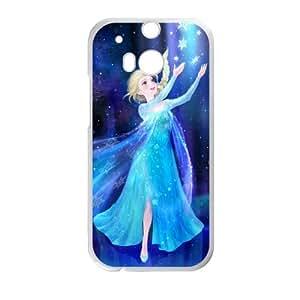 DAZHAHUI Frozen Princess Elsa Cell Phone Case for HTC One M8