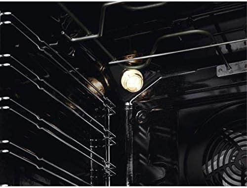 Zanussi ZOP67922XU Horno Multifunción con Limpieza Pirolítico, 9 funciones, Cocción Uniforme, Ventilador XXL, Reloj ...