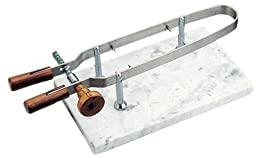 Paderno World Cuisine Ham Holder with Marble Base