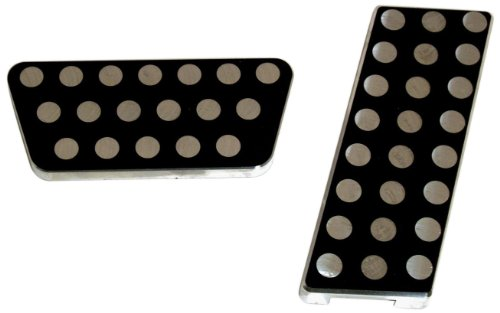 All Sales 31CK Black Powder Coat Circle Pedal Kit