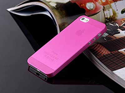 Generic Deluxe Luxury W/chrome Rubberized Snap-on Hard Back Cover Case for iphone 5 5s