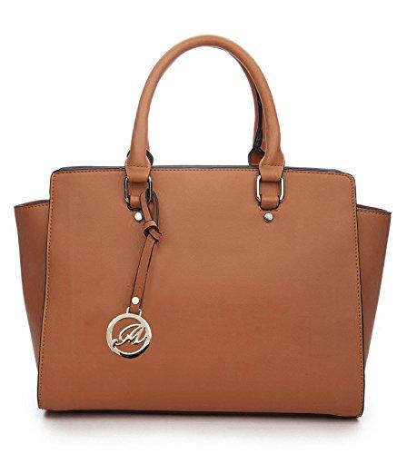 K664018L MyLux Women/Girl Fashion Designer handbag (Khaki)