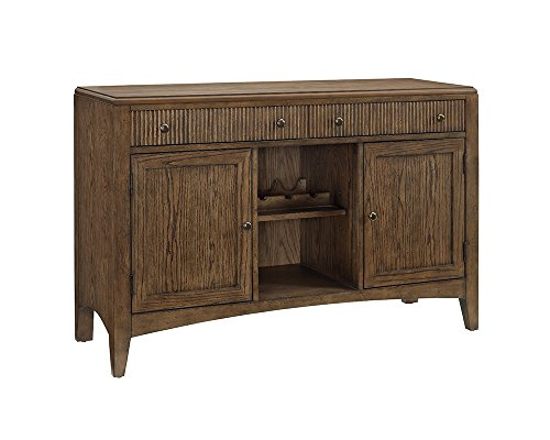 Furniture At Home Cabot Collection Server, Honey (Honey Oak Buffet)