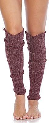 Foot Traffic Cable Knit Legwarmers