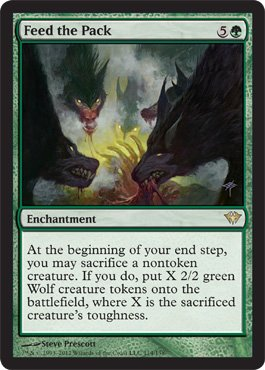 Creature Pack (Magic: the Gathering - Feed the Pack (114) - Dark Ascension)