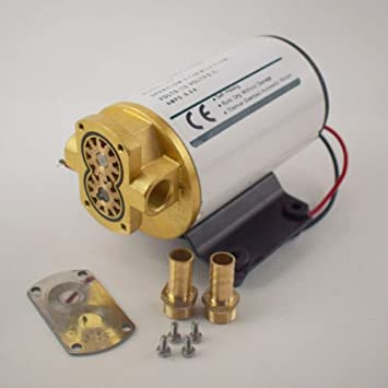 Electric Motor Bomba de aceite Gear blanco 12 V firme Diff Cooler Turbo de conversión: Amazon.es: Coche y moto