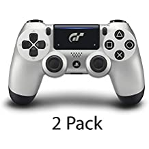 2-Pack Sony PS4 Dualshock V2 Controller Gran Turismo GT Sport Limited Edition