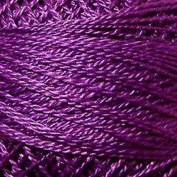 Valdani Perle Cotton Size ~12~ Embroidery Thread, 109 Yard Ball - 1226 Mauve Lilac