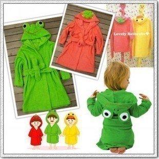 Amazon Com Linda Baby Dressing Gown Splash Wrap Bath Hooded Towel