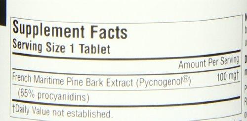 SOURCE NATURALS Pycnogenol 100 Mg Tablet 60 Count Discount