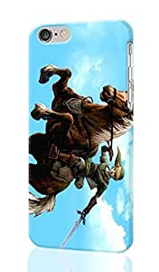 """SUUER The Legend of Zelda Cool iPhone 6 - 5.5 inches Plus Case , Designer Personalized Custom Plastic Hard CASE for iPhone 6 Plus (5.5"""") Durable New Style Rough Skin 3D Case Cover"""