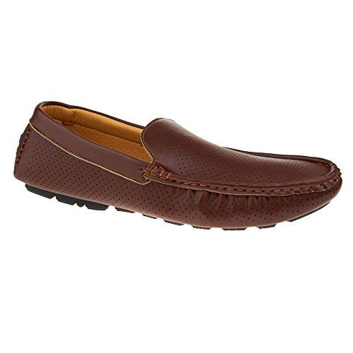 London Footwear , Sandales Compensées homme - marron - marron,