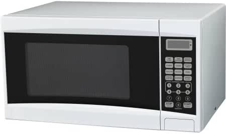 Mainstays 0.7 cu ft Microwave Oven, White, 700W Power/10 Power Levels