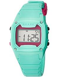 Unisex 102281 Classic Green Case Digital Silicone Strap Watch