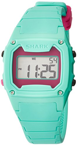 (Freestyle Unisex 102281 Classic Green Case Digital Silicone Strap Watch)