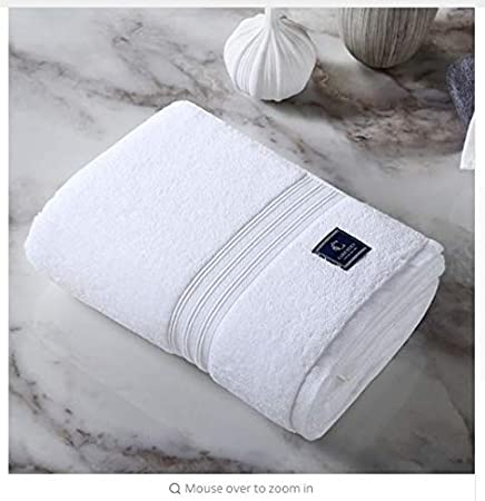 Amazon.com: WATOP high-Grade Bath Towel 150 80cm Five-Star Towels Men and Women Pakistani Cotton Satin Adult: Home & Kitchen