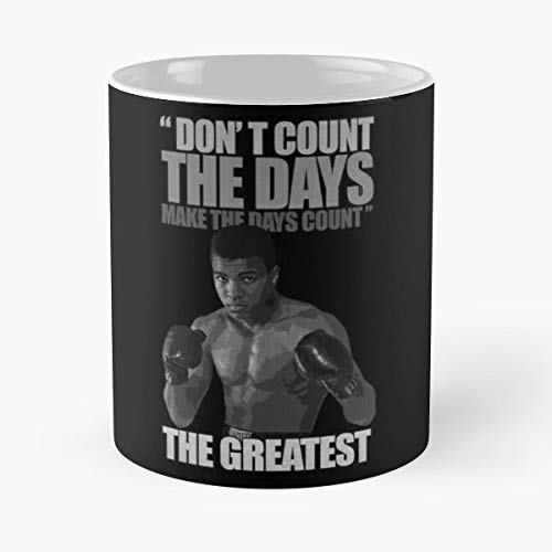 Muhammad Icon Triumph Cassius Clay Funny Christmas Day Mug Gifts Ideas For Mom - Great Ceramic Coffee Tea Cup