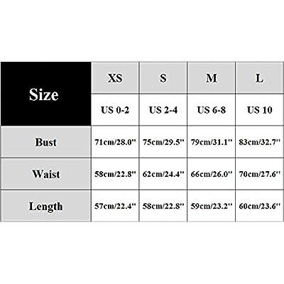 PALINDA Women's Sexy Sleeveless Square Neck Tank Top Metal Button Bodysuit: Clothing