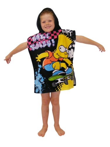 [the Simpsons - Bart Rules Poncho] (Sim Character Costume)