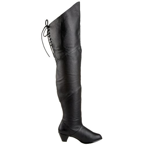 Funtasma MAIDEN-8828 Blk Leather (P) Size UK 9 EU 42