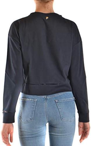 Dondup Luxury Fashion Damen F197KS0020ZA2DD897 Blau Viskose Sweatshirt | Frühling Sommer 20