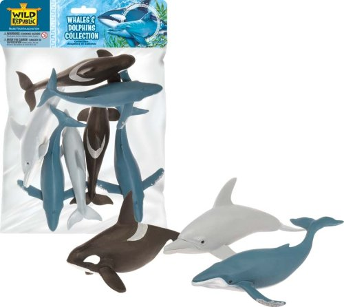 Wild Republic Polybag Whales and Dolphins
