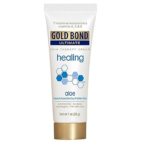 Gold Bond Ultimate Healing Skin Therapy Lotion Aloe 1 Oz (4 Pack) (Aloe Gold Natural)