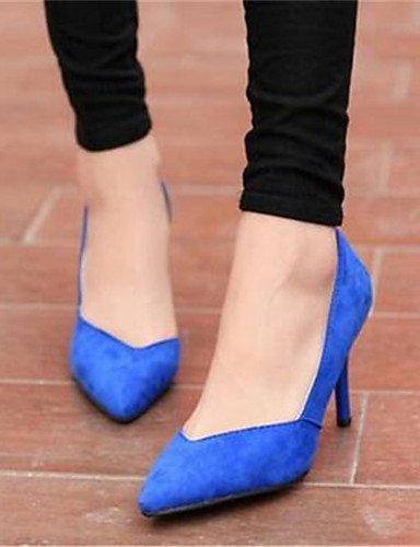 GGX/ Damenschuhe-High Heels-Büro / Kleid-Kunststoff-Stöckelabsatz-Absätze-Schwarz / Blau / Rosa black-us9 / eu40 / uk7 / cn41