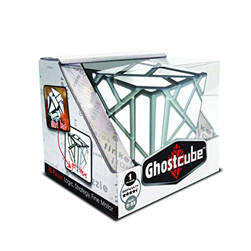Ghost Cube by Mefferts- Speed Cube, Brain Teasers, One-Player Games, Shape Puzzle, Twisty Puzzle