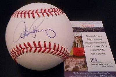 Alex Rodriguez Signed Official MLB Baseball w/JSA COA N33065 NY Yankees