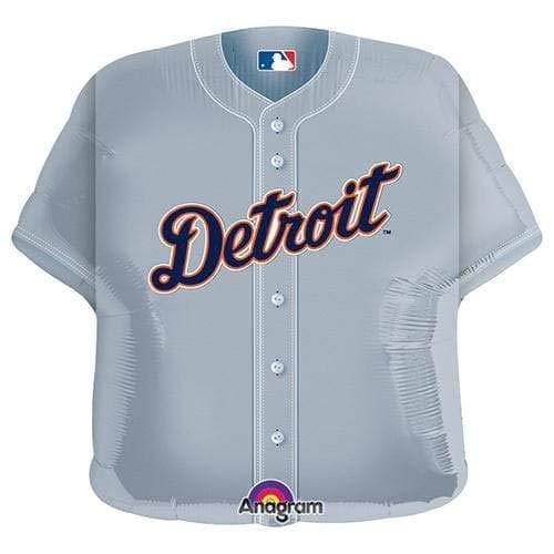 Anagram 18521 MLB Detroit Tigers Baseball Jersey Foil Balloon, 24