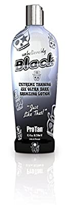 Pro Tan Unbelievably Black Extreme Tanning 25X Ultra Dark Bronzing Lotion 250ml