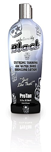 Bronzing Tan Lotion - Pro Tan Unbelievably Black Extreme Tanning 25X Ultra Dark Bronzing Lotion 250ml