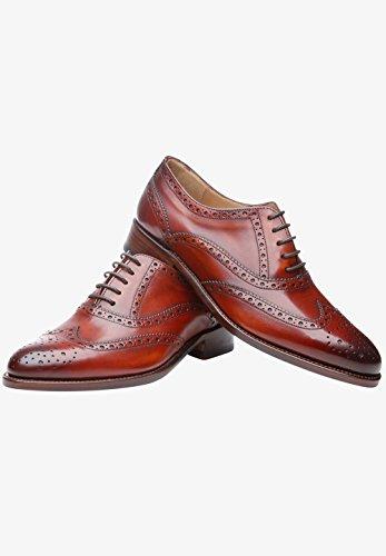 Shoepassion Pas. 1151 Élégantes Chaussures Ou Occasionnels Business- Pour Les Femmes. Passepoilées Et À La Main De Cuir Le Plus Fin. Brandy