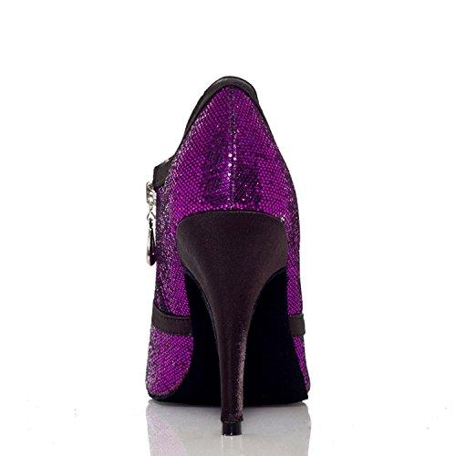Purple Salle Bal Heel De Violet Miyoopark 10cm Q15g5wt Femme 35 wIcaA6q