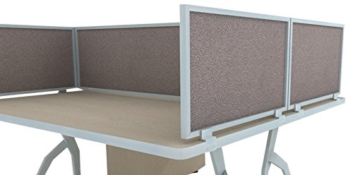 Acoustical Desk Mounted Privacy Panel product image